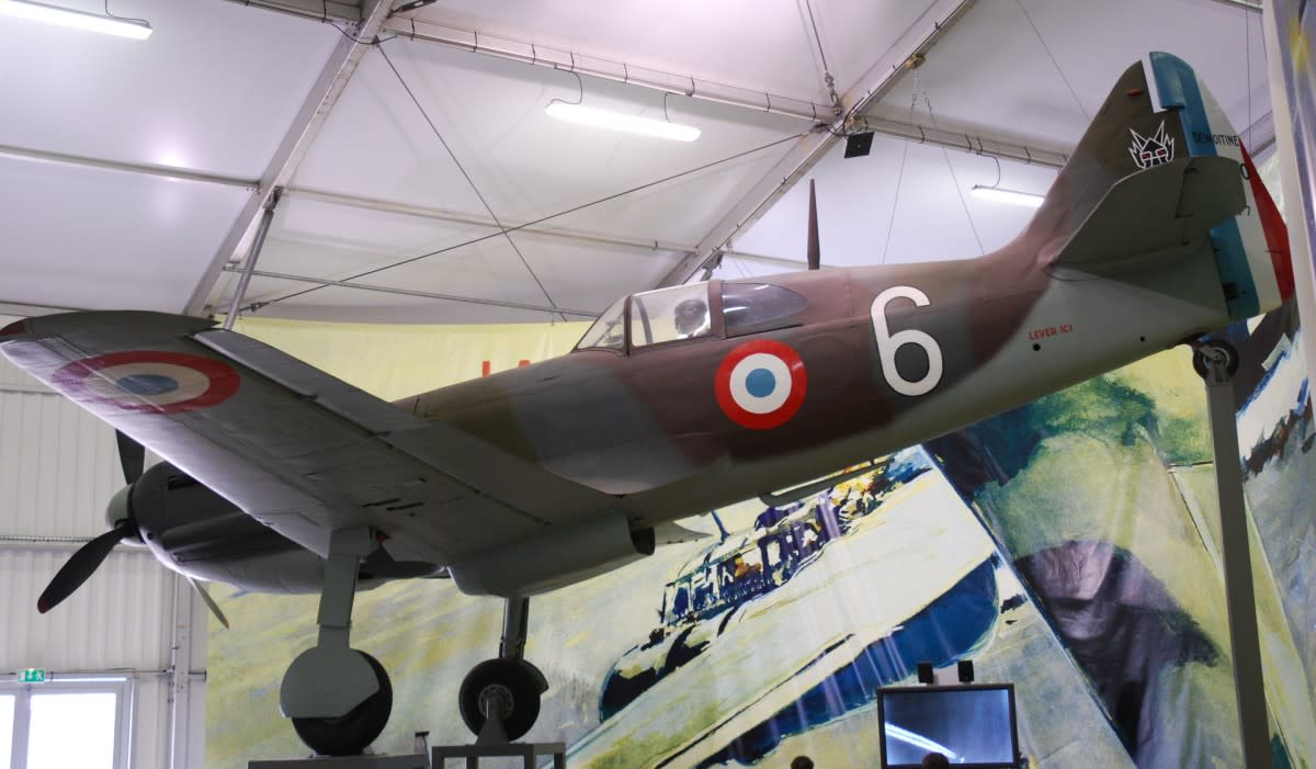 The D.520 was the best fighter that the French had in 1940, but was to be improved further.