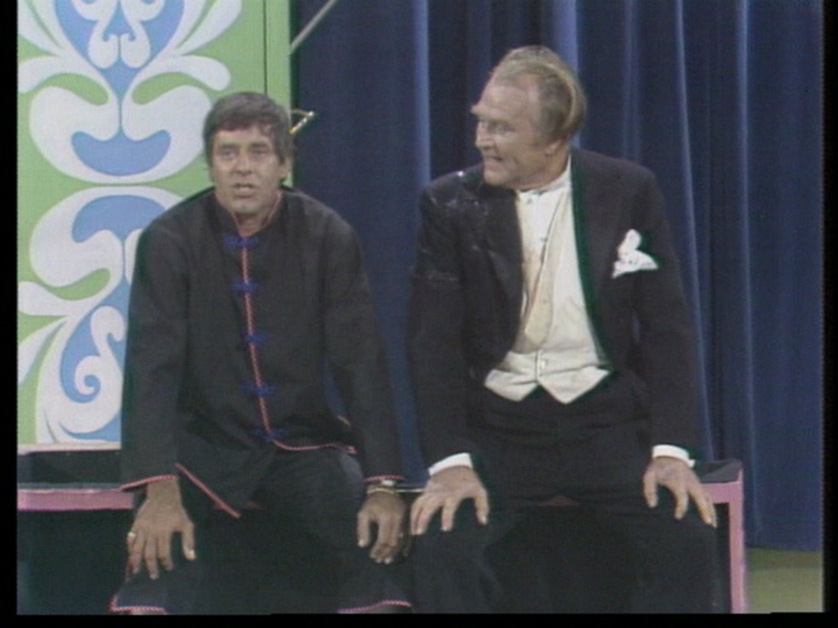 Jerry Lewis and Red Skelton, 9/14/70 NBC broadcast