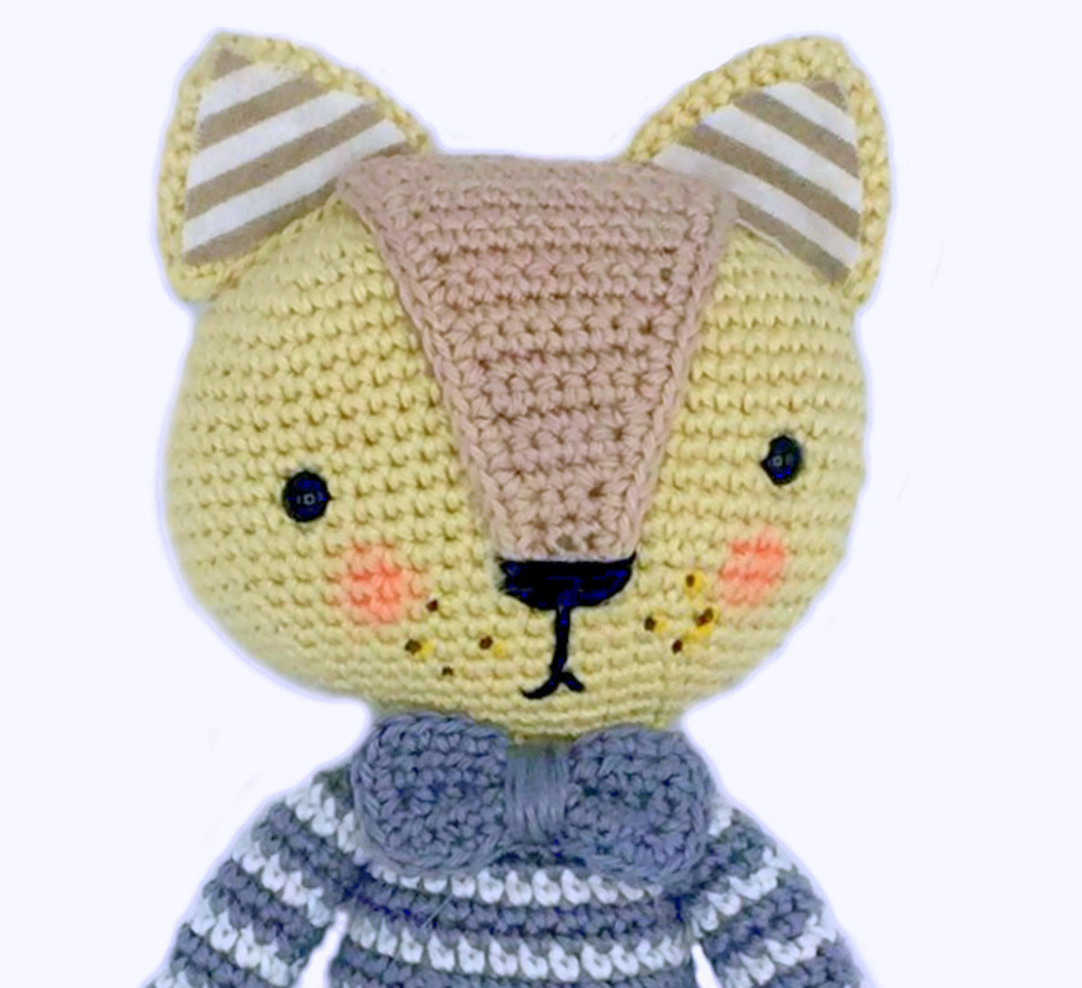 Joined rounds in amigurumi – colour changes and stripes | hookabee | 475x520