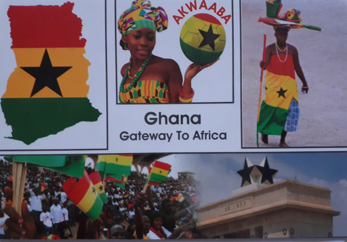 As of November 12, 2020, Ghana ranked 88th with  3,065 cards sent