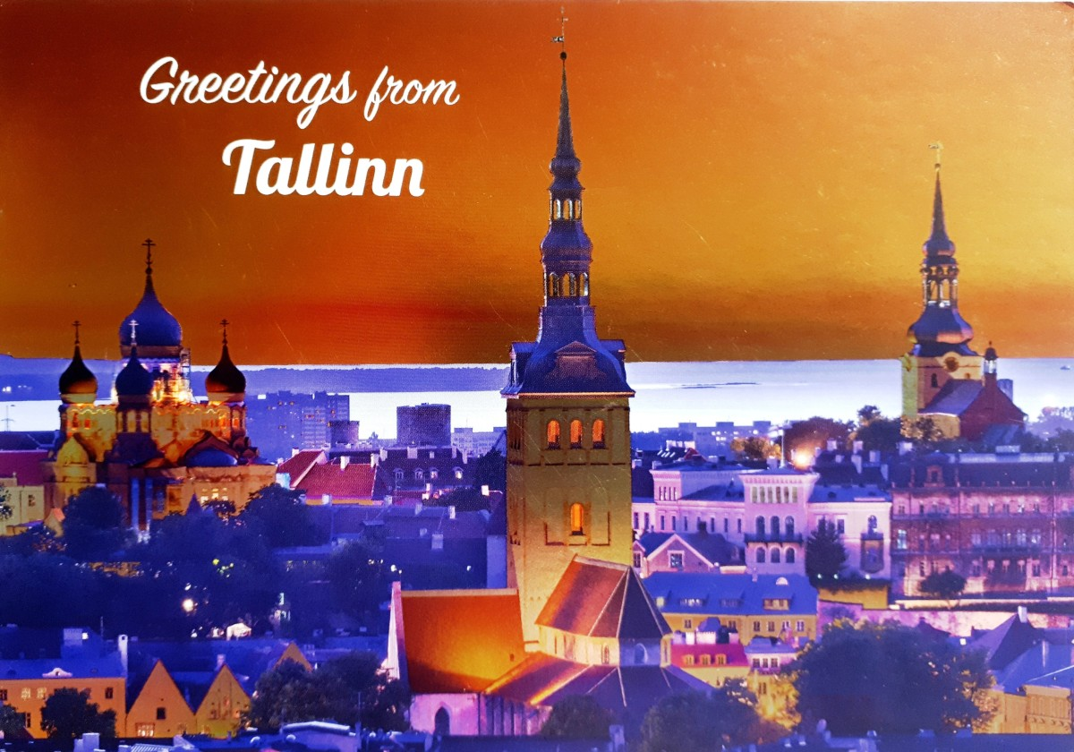 A postcard from Estonia - not only met my wishes, but exceeded my wildest hopes and expectations