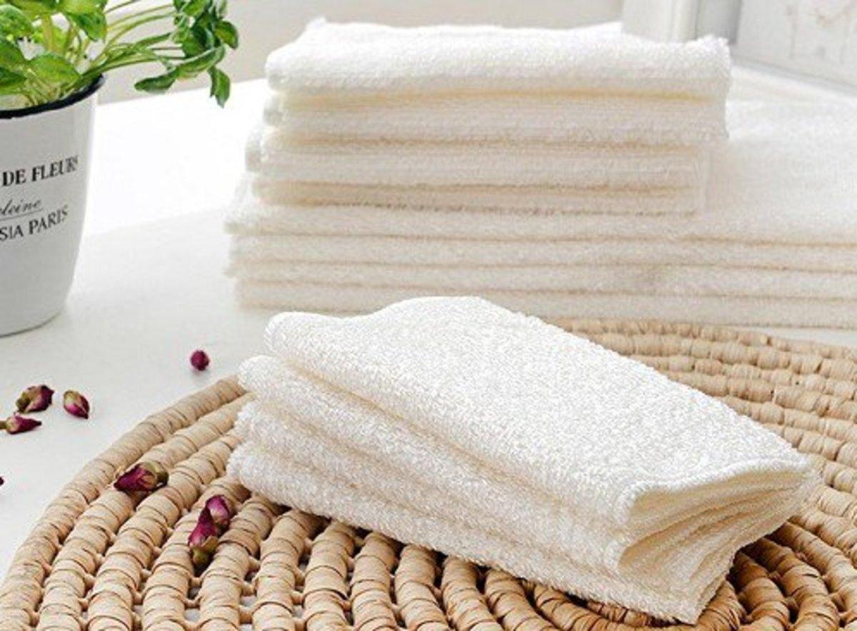 Cotton towels.