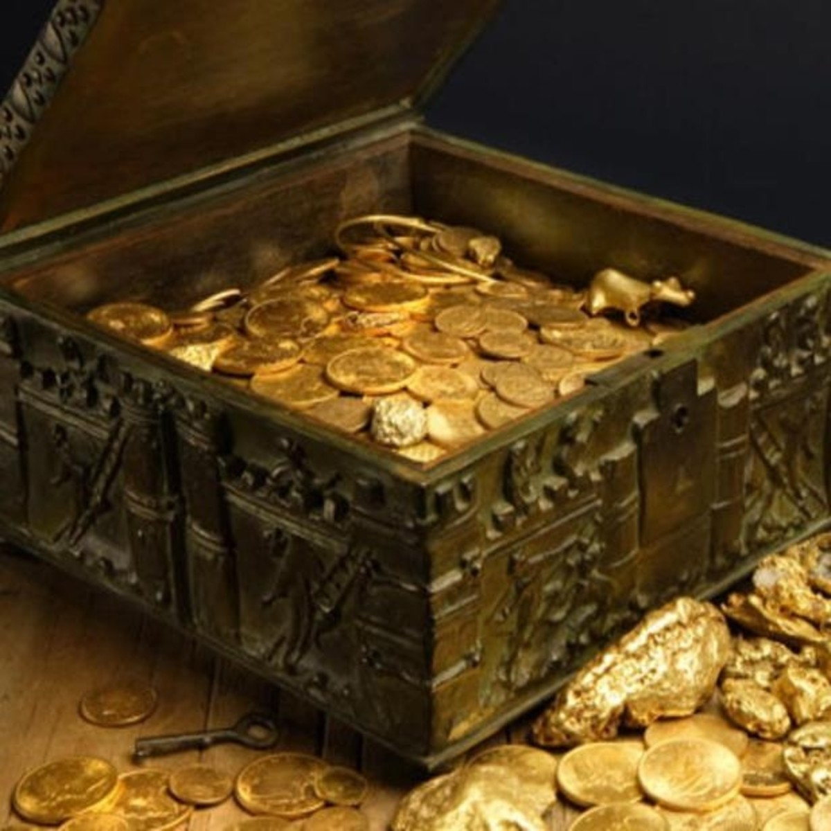 Photo of Forrest Fenn's Treasure Chest