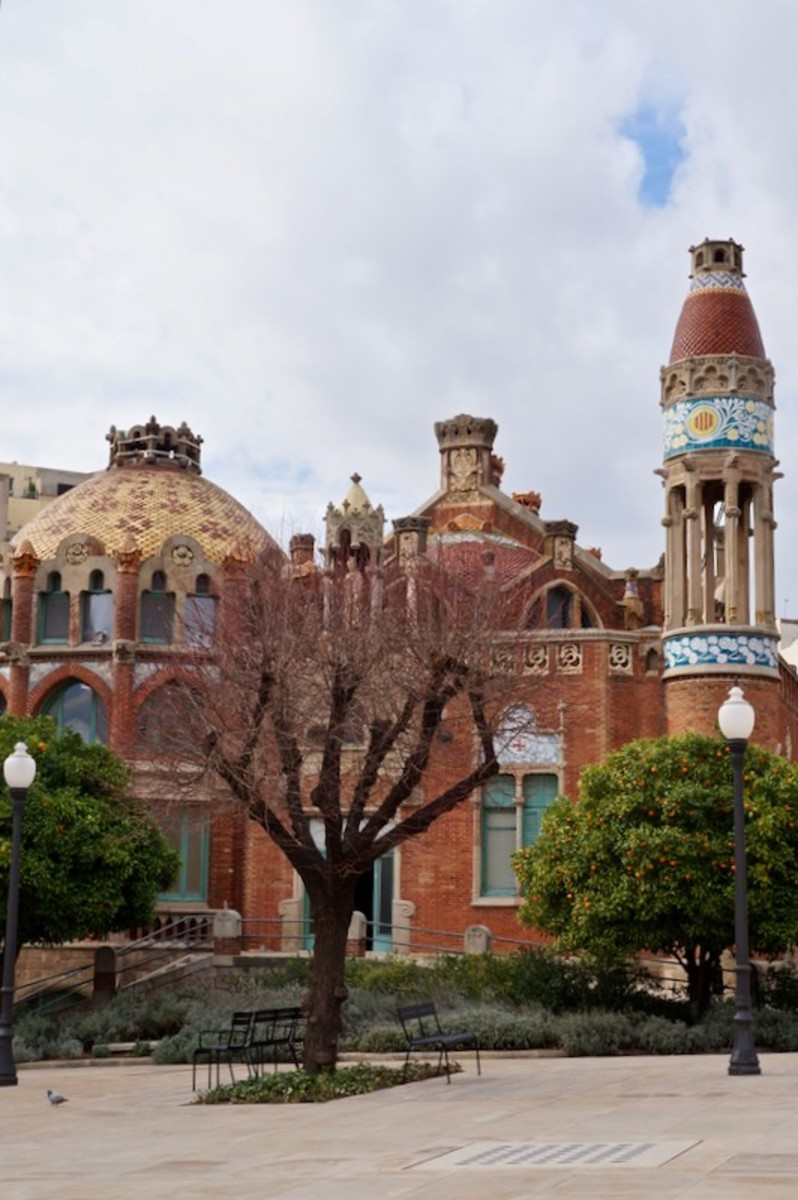 Hospital Sant Pau: Art Nouveau Centre in Barcelona