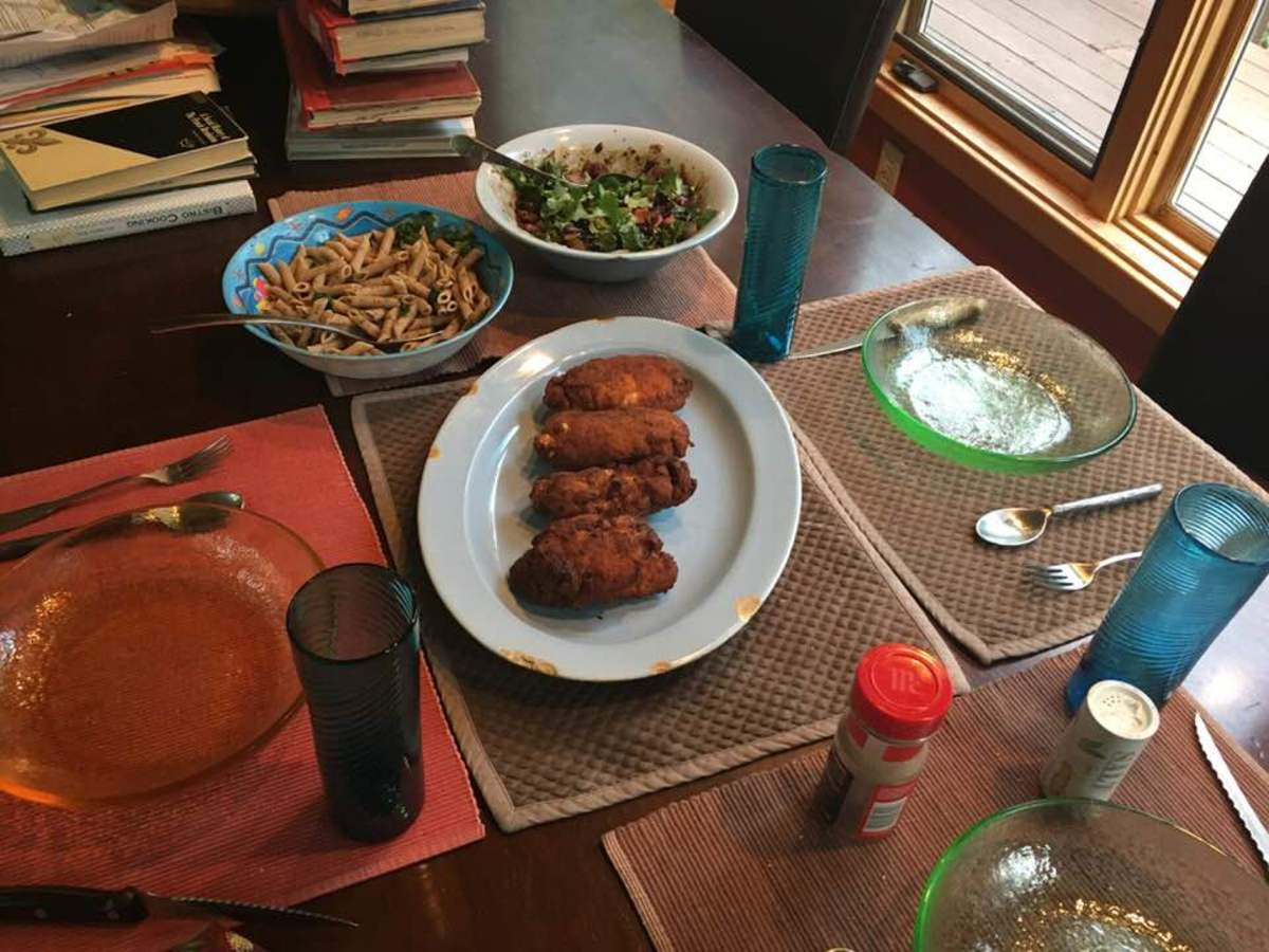 Succulent Fried Chicken Kiev Recipe