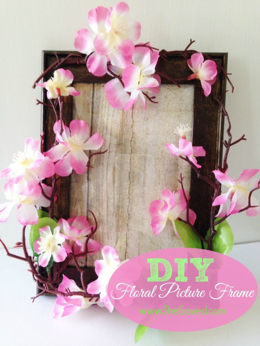 Cute DIY picture frame gift