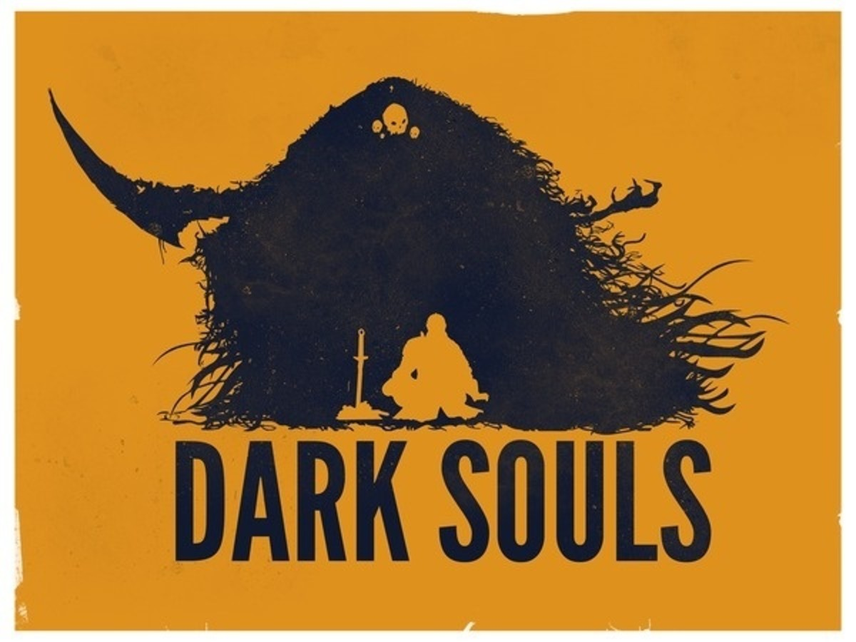 Dark Souls Game Posters on the Behance Network