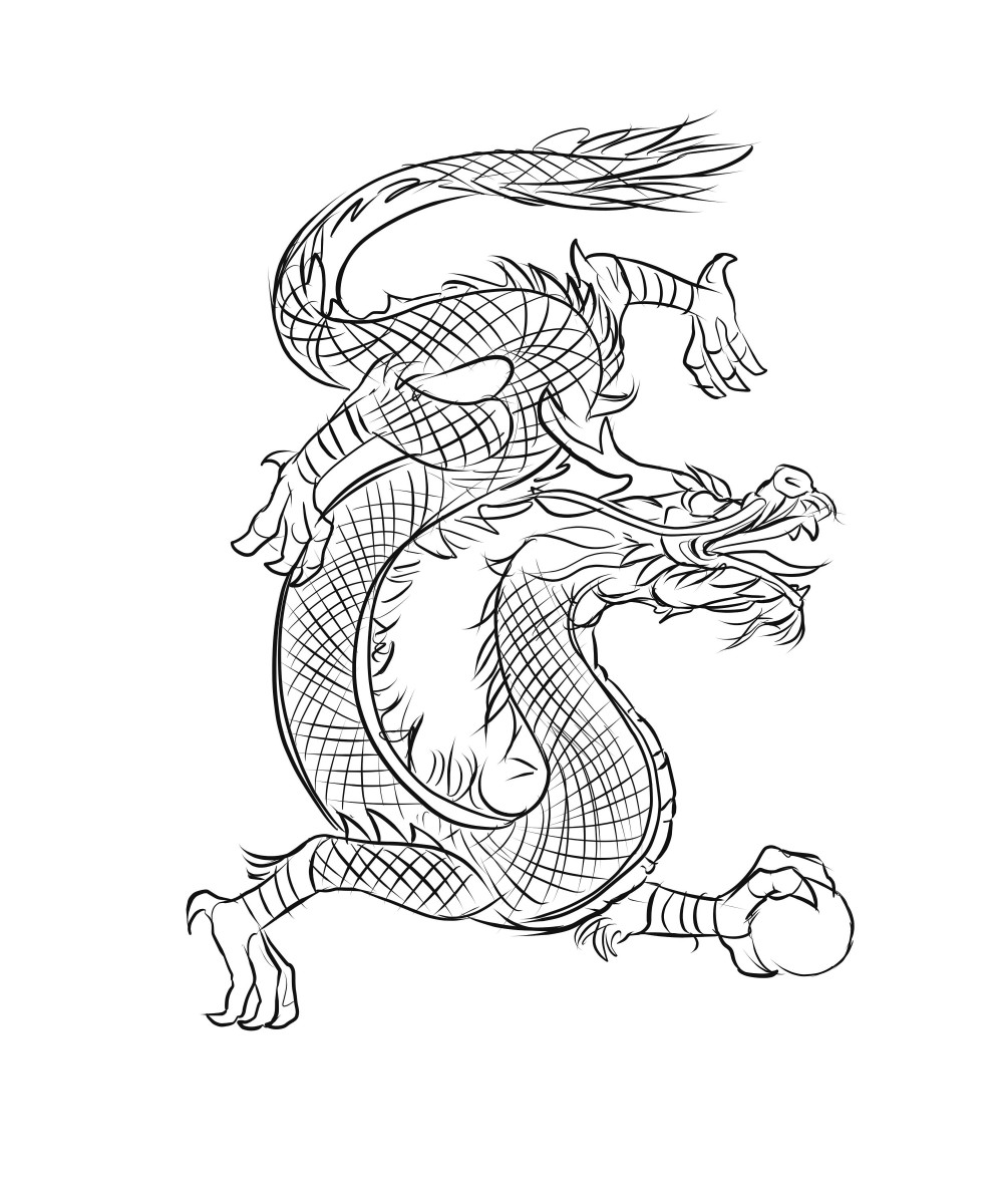 Dragons are considered lucky in Chinese culture.