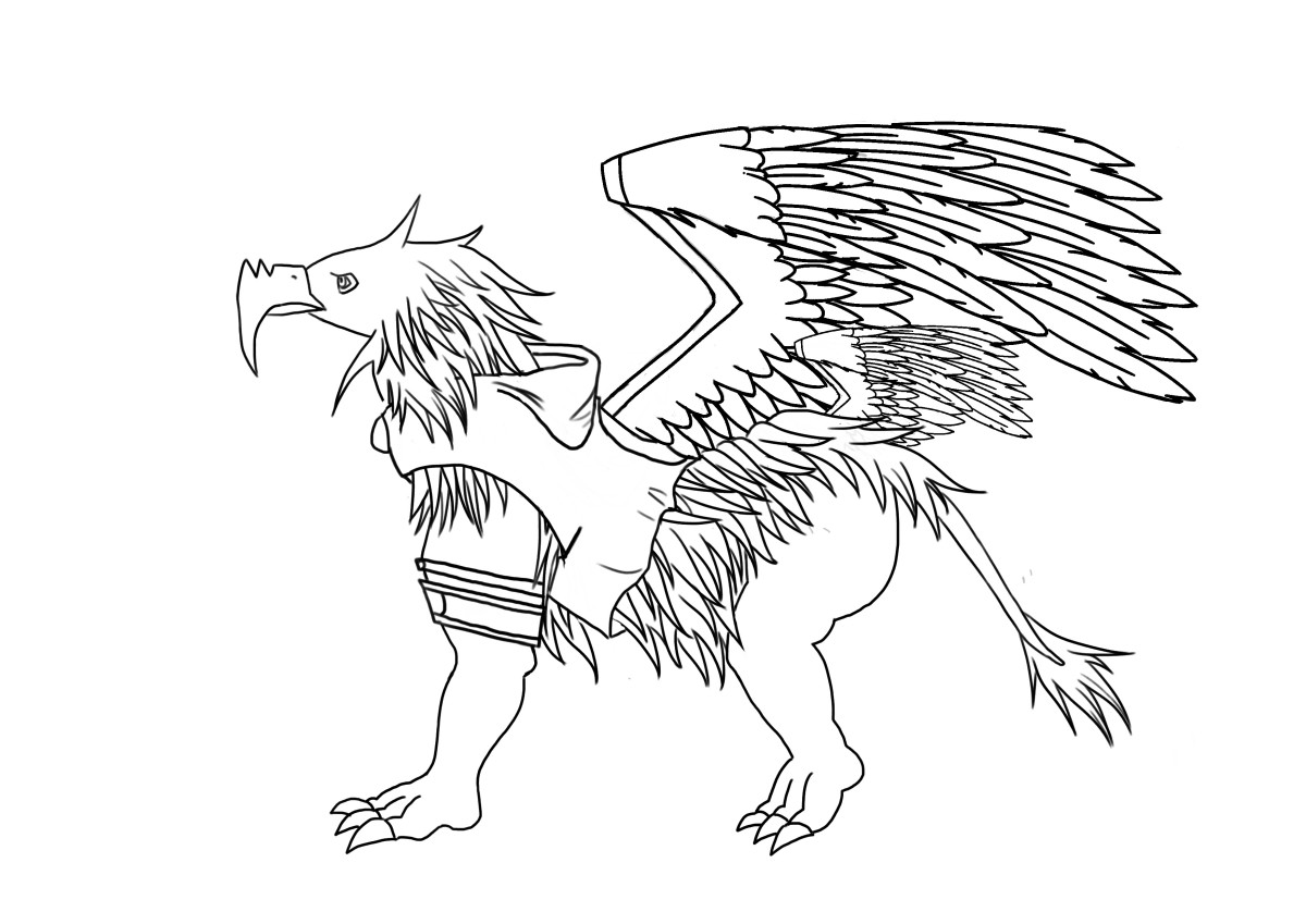 Part lion, part eagle, the Griffon is the King of All Creatures!