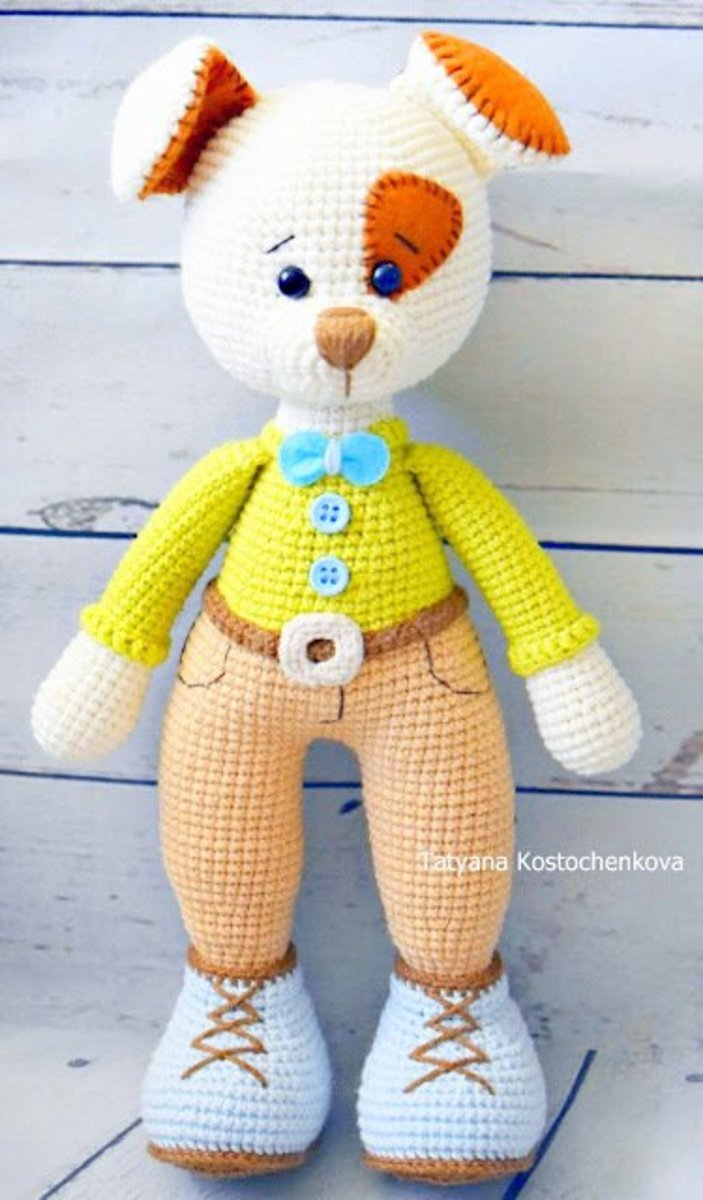 Bruno The Dog: Free Crochet Pattern!