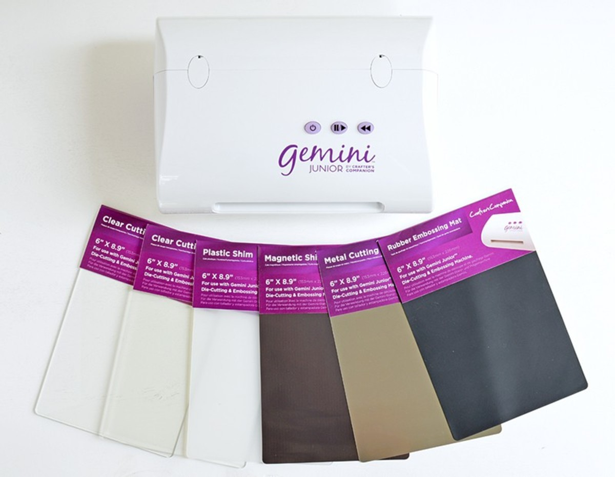 These are the accessories that are used to cut and emboss projects with the Gemini