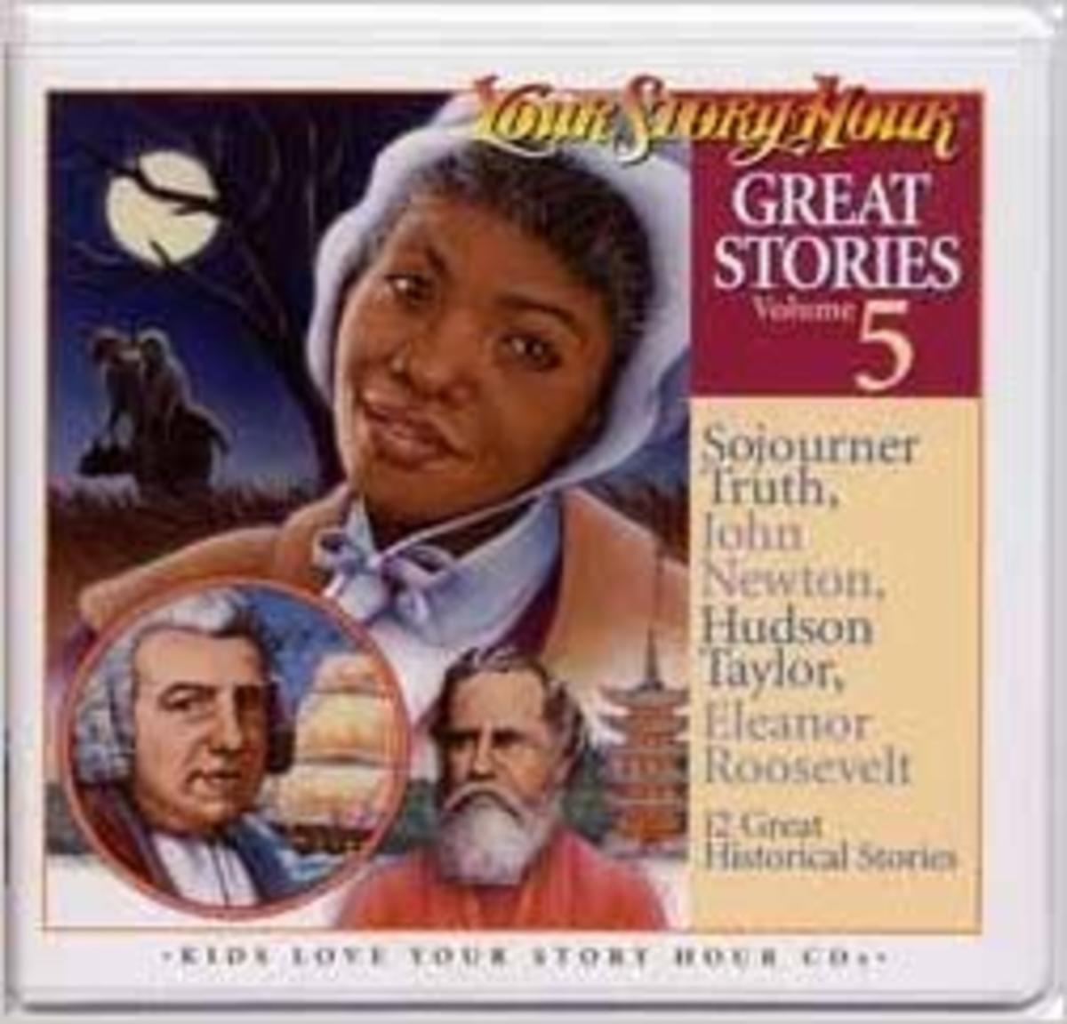 Great Stories Volume 5 CD Album (Great Stories, Volume 5) - Sojourner Truth