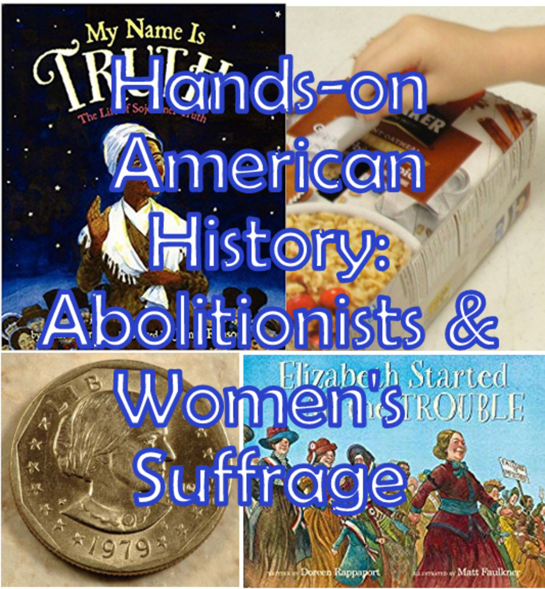 Abolitionists & Women's Suffrage Lesson for Kids