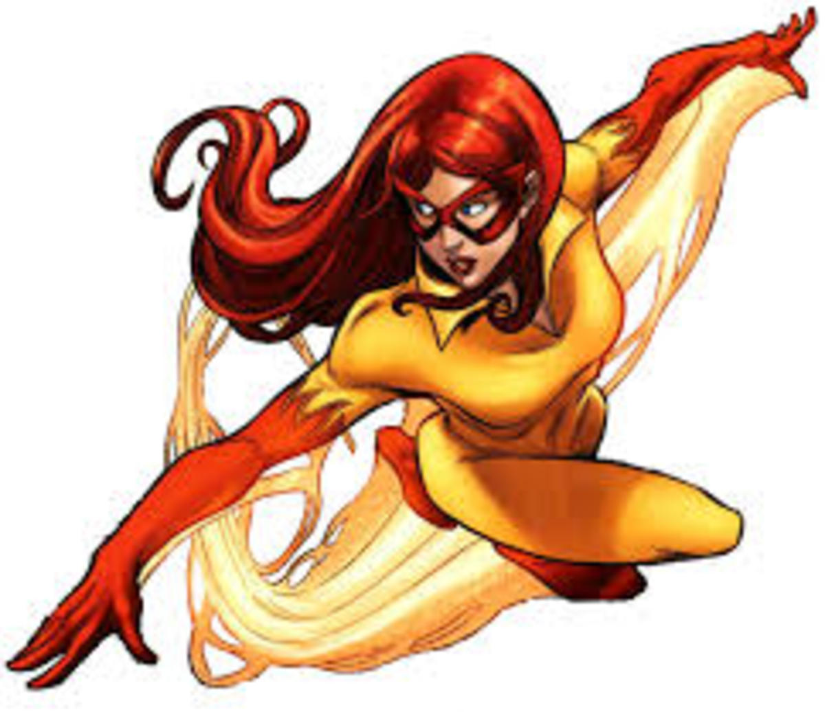 Marvel's Firestar (Angelica Jones)
