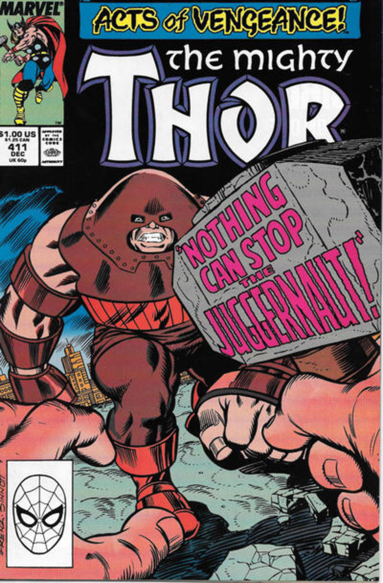 Thor #411 - 1st Cameo of New Warriors.