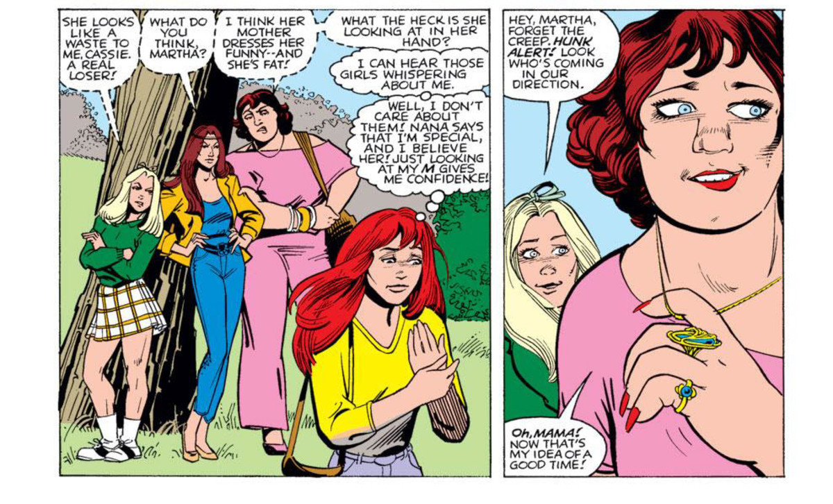 Panels from Firestar issue #1
