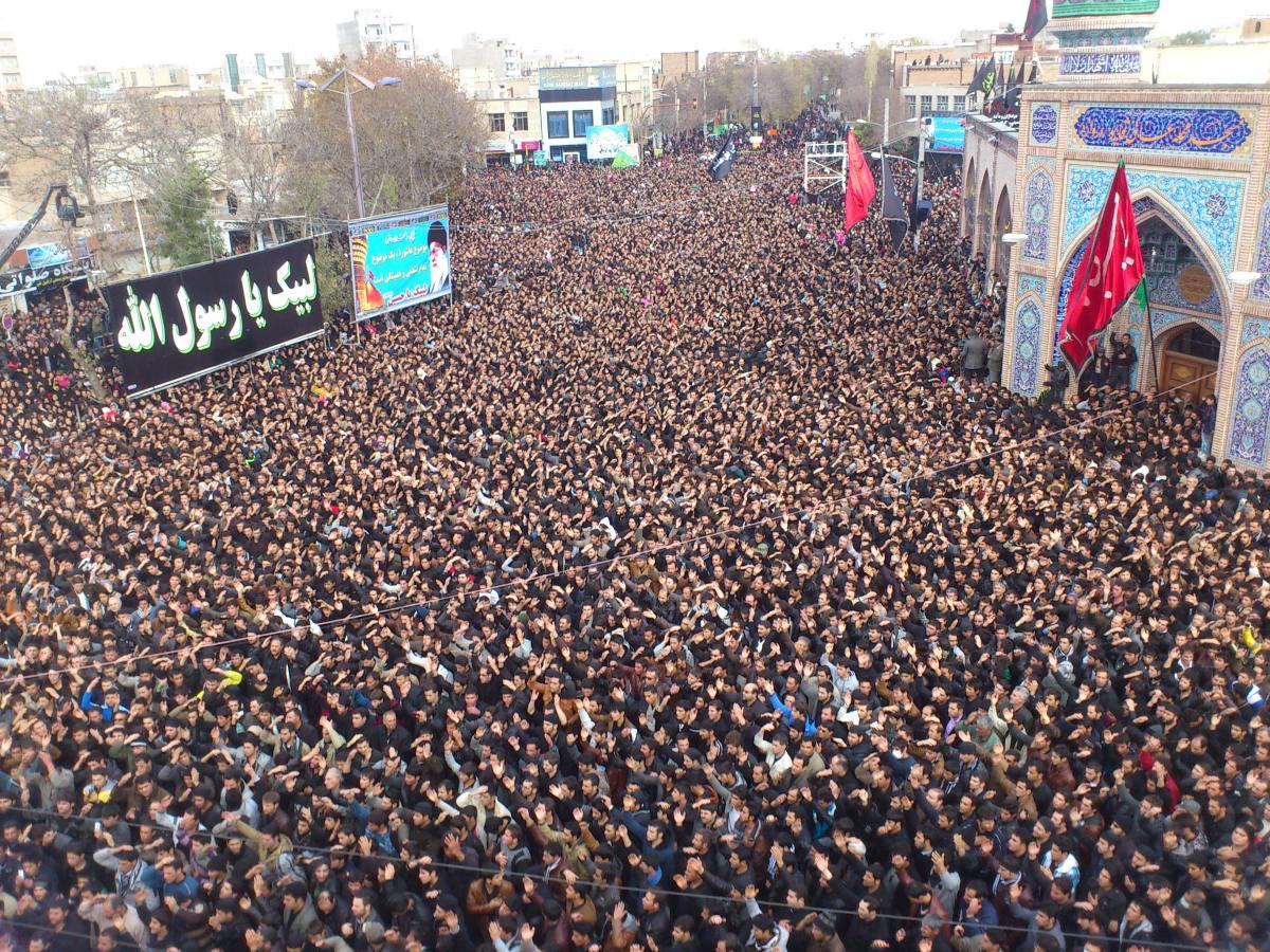 Muharram in Ardabil.