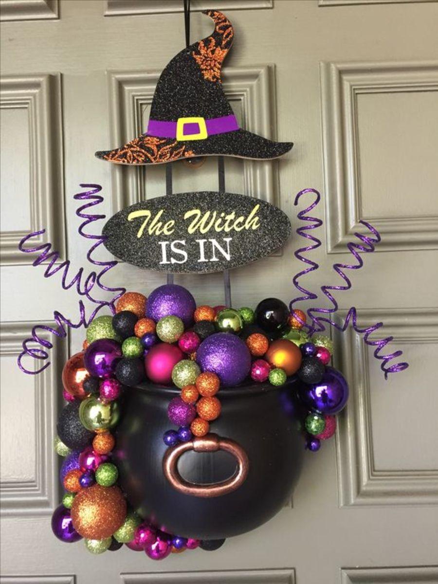 Cauldron Wreath