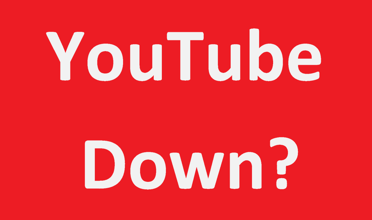 Youtube Is Down: Now What Do You Do?