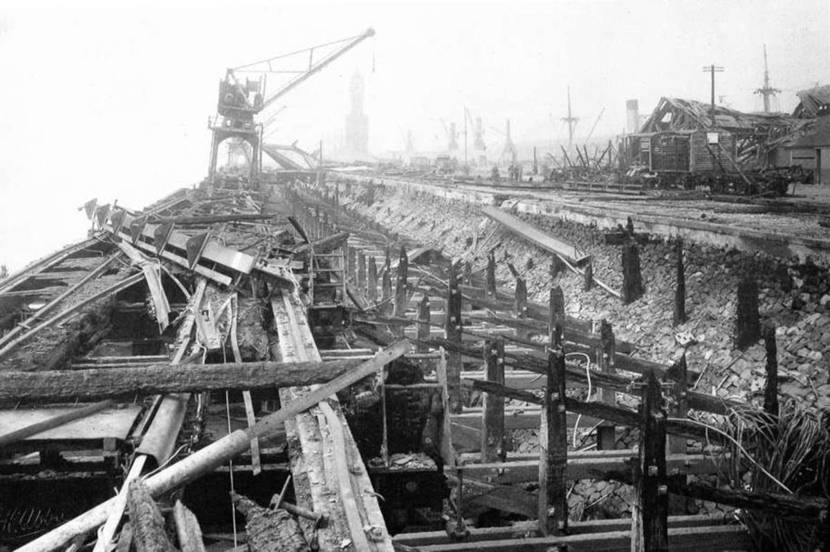 Kingston-upon-Hull - widely known as Hull - was given a regular pasting throughout the 'Blitz'. The city was virtually rebuilt in the aftermath of WWII