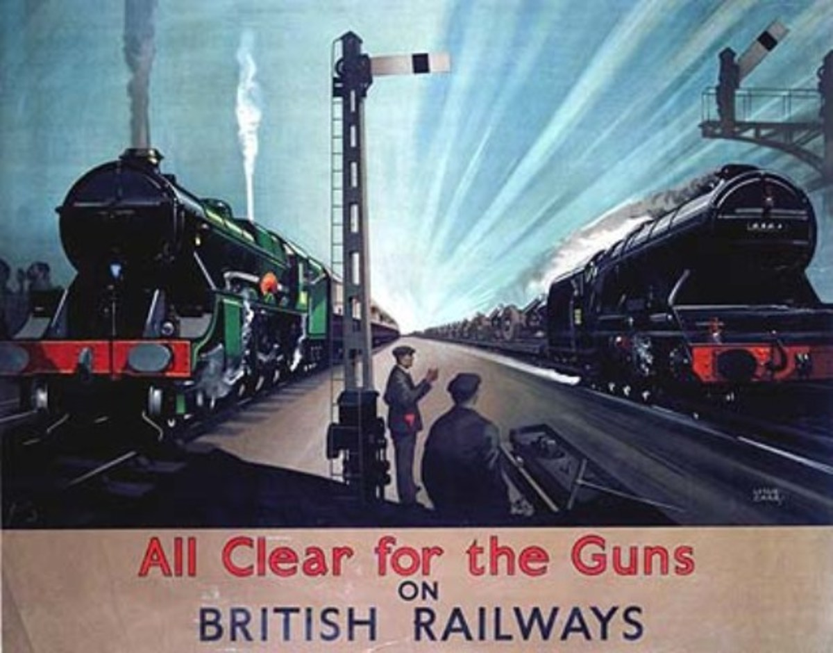 Even troop trains had to wait whilst shells and other munitions belted past, probably behind a V2, a B16 or later in the war a B1 that had just taken a  munitions workers' train to the factory. No-one rested for long in the race to beat Hitler