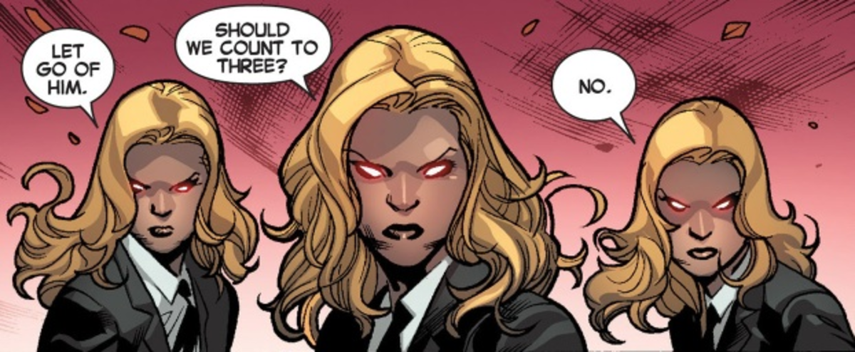 A Bit About The Stepford Cuckoos or Frost Sisters in Comics!