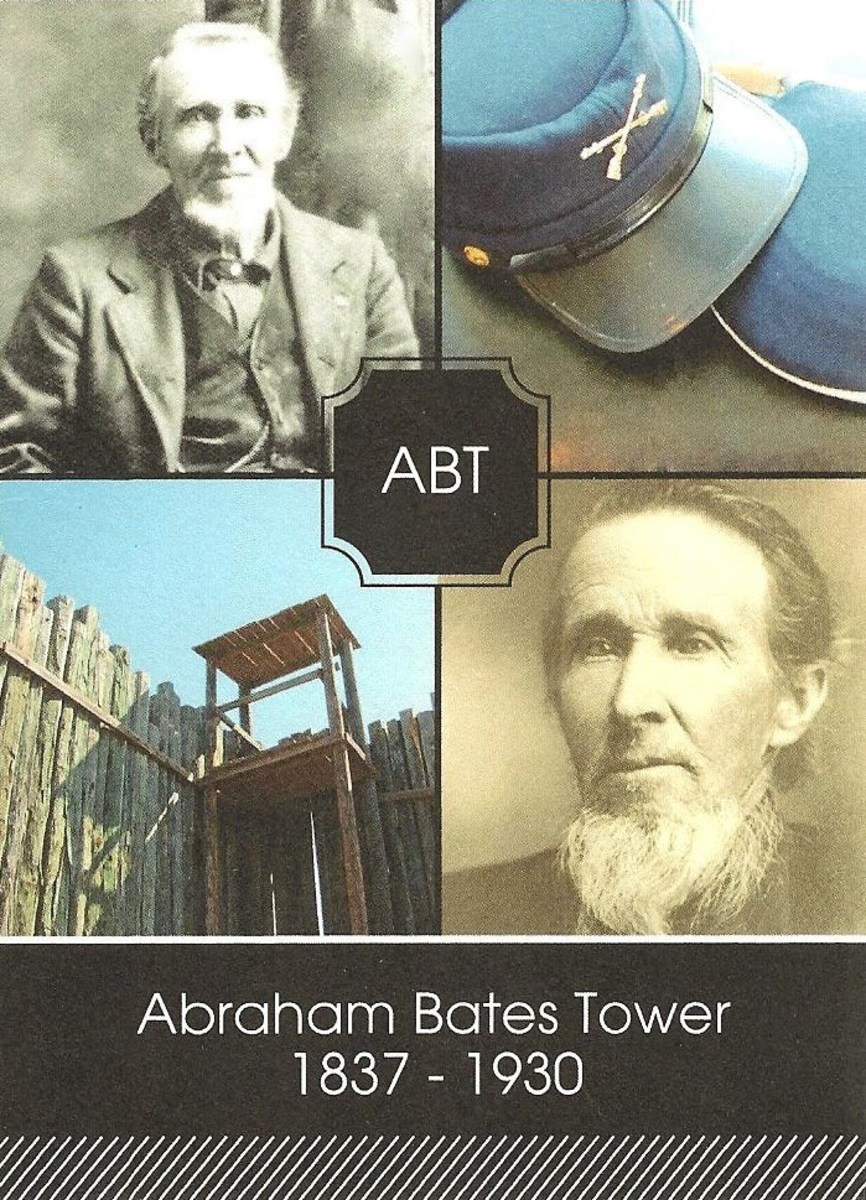 Abraham Bates Tower was an Andersonville survivor.