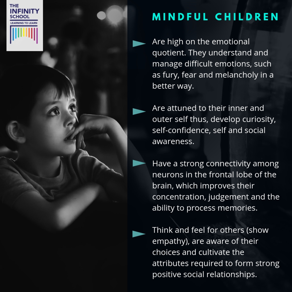 The characteristics of a mindful child