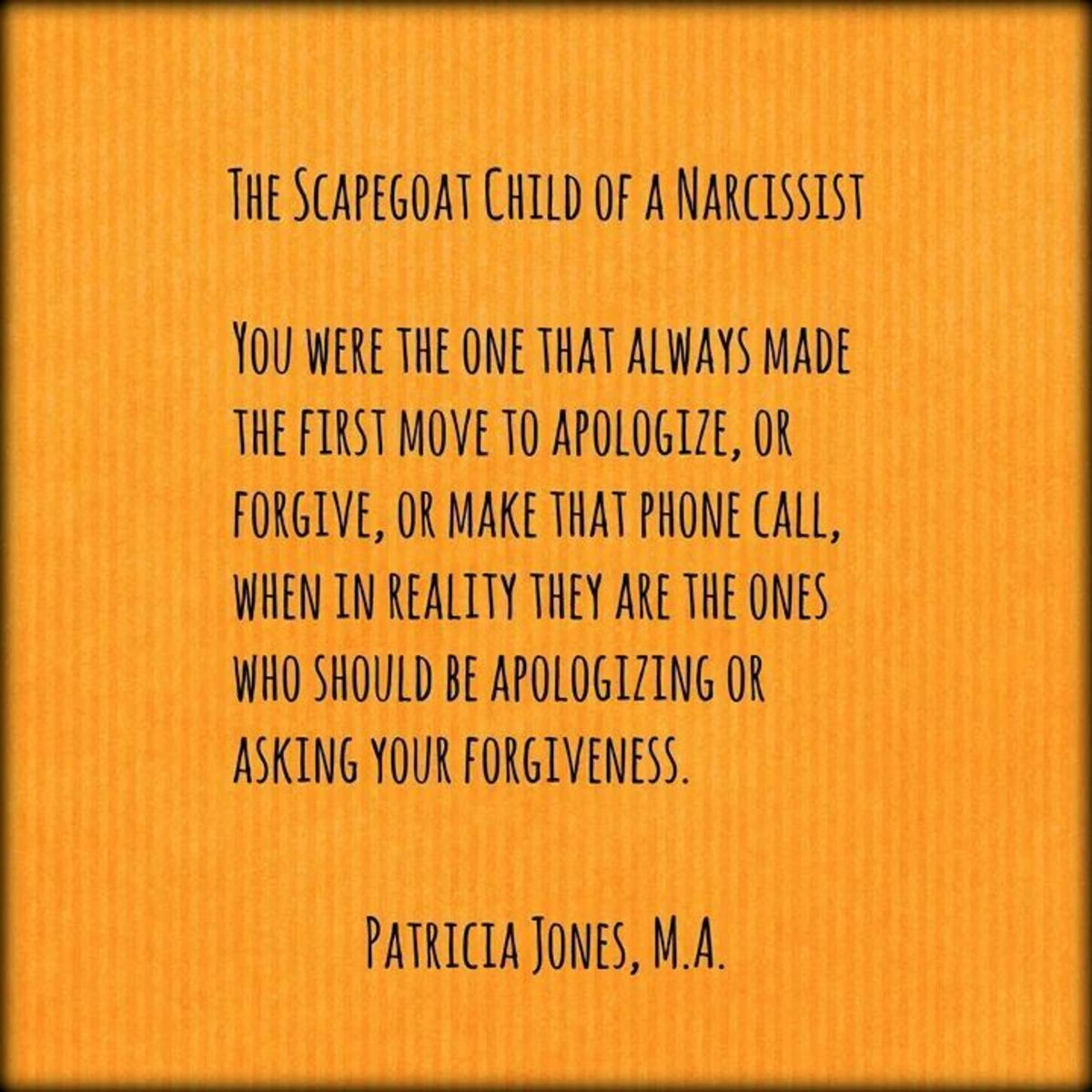 The Scapegoats of a Narcissistic Mother | HubPages