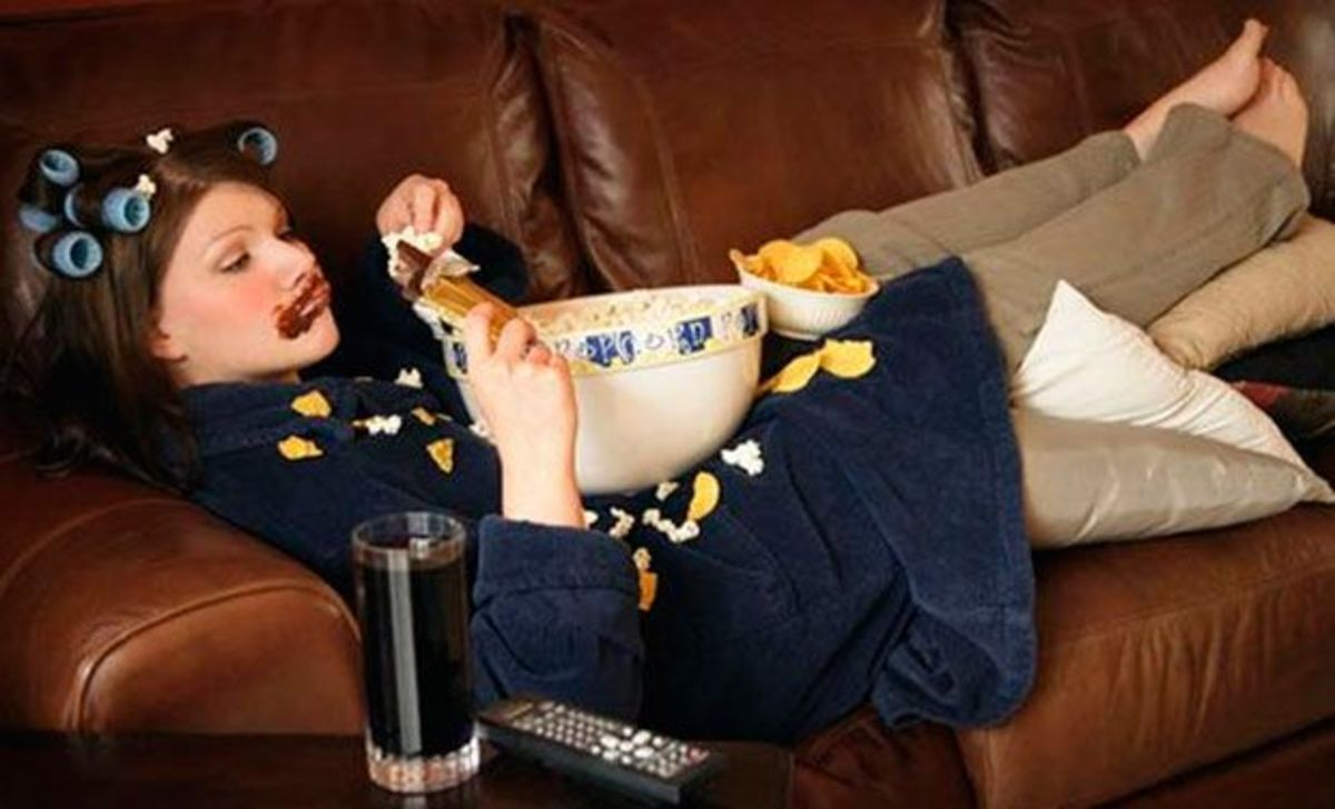 Couch potato fat slob eating lazy #lazy #couchpotato