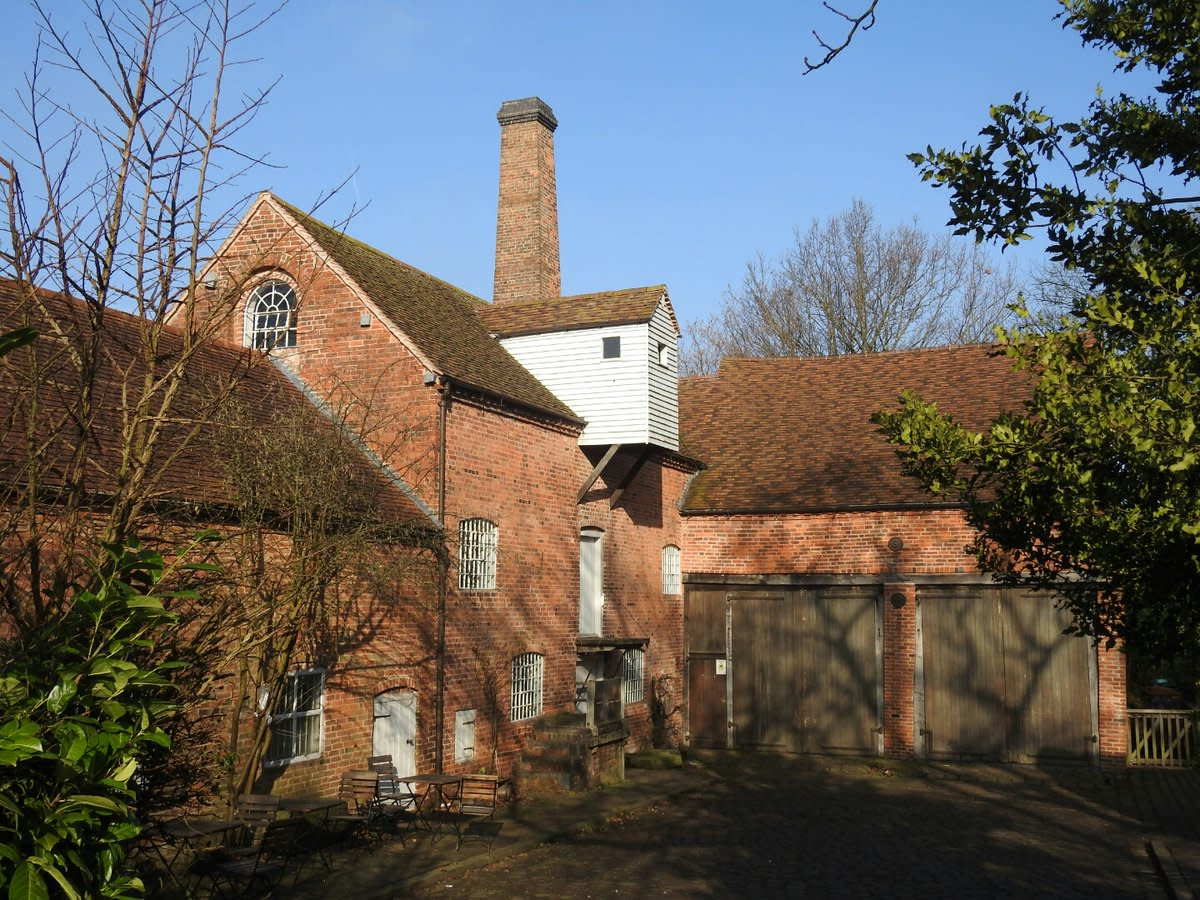 Sarehole Mill- the inspiration for Hobbiton looking resplendent in the morning sunshine.