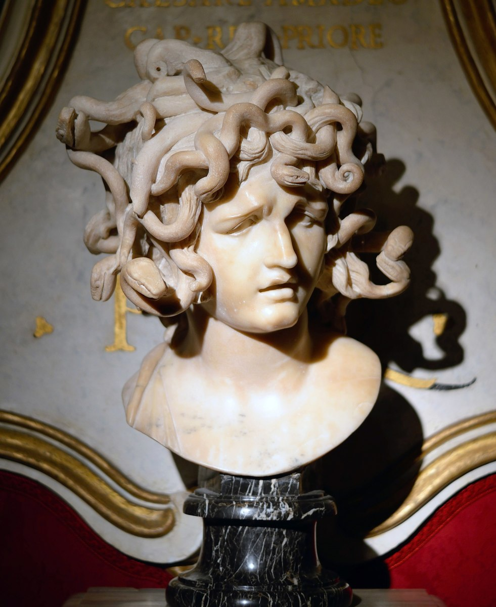 The evil fixed star Algol, here depicted as Medusa.