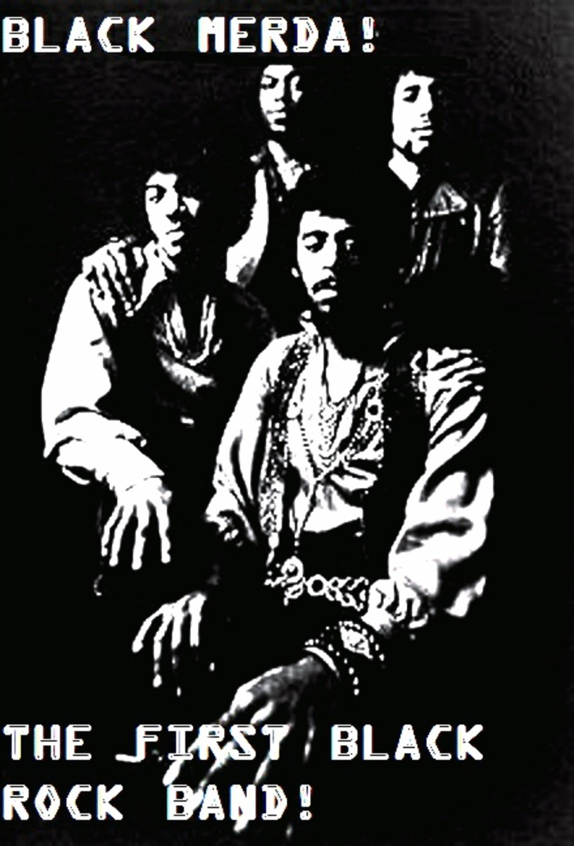 Black Merda! the Legendary First All Black Funk Rock, Psychedelic Funk Rock Band!