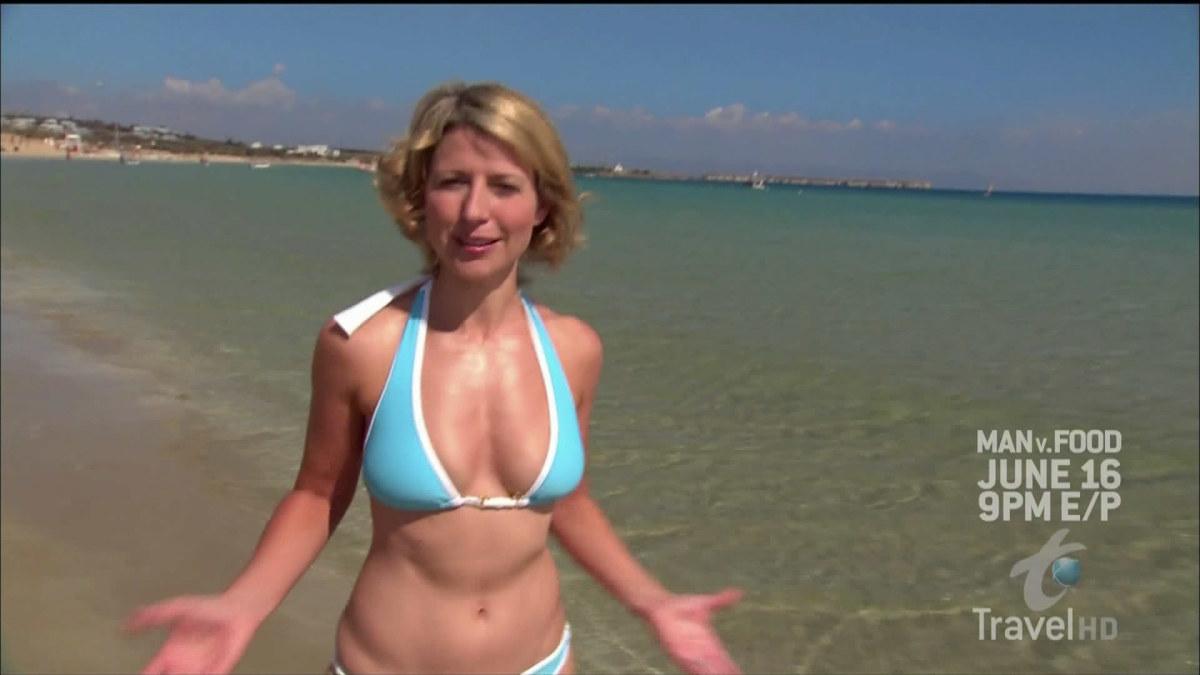 Samantha brown key west bikini