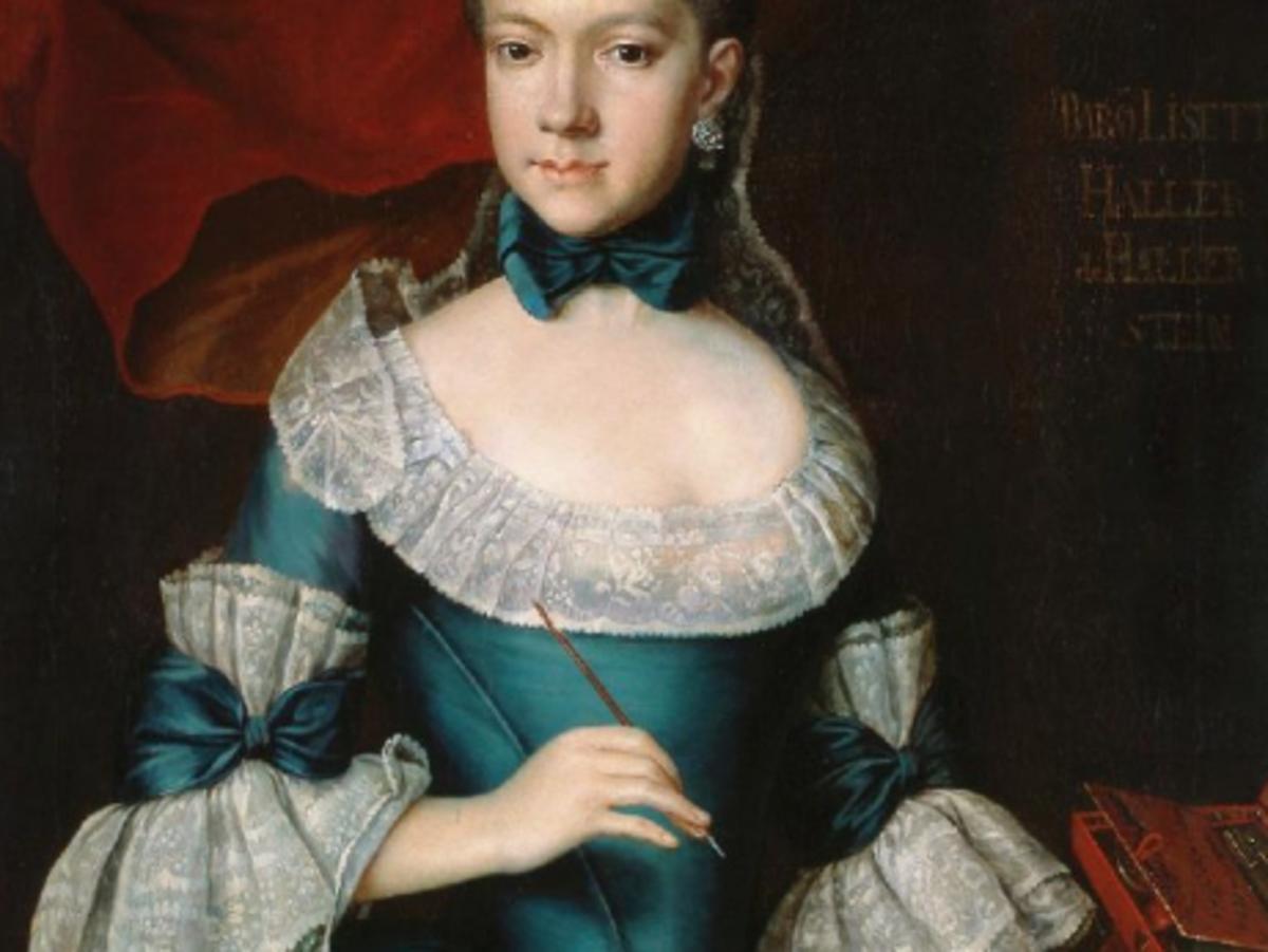 Portrait of Erzsébet Haller