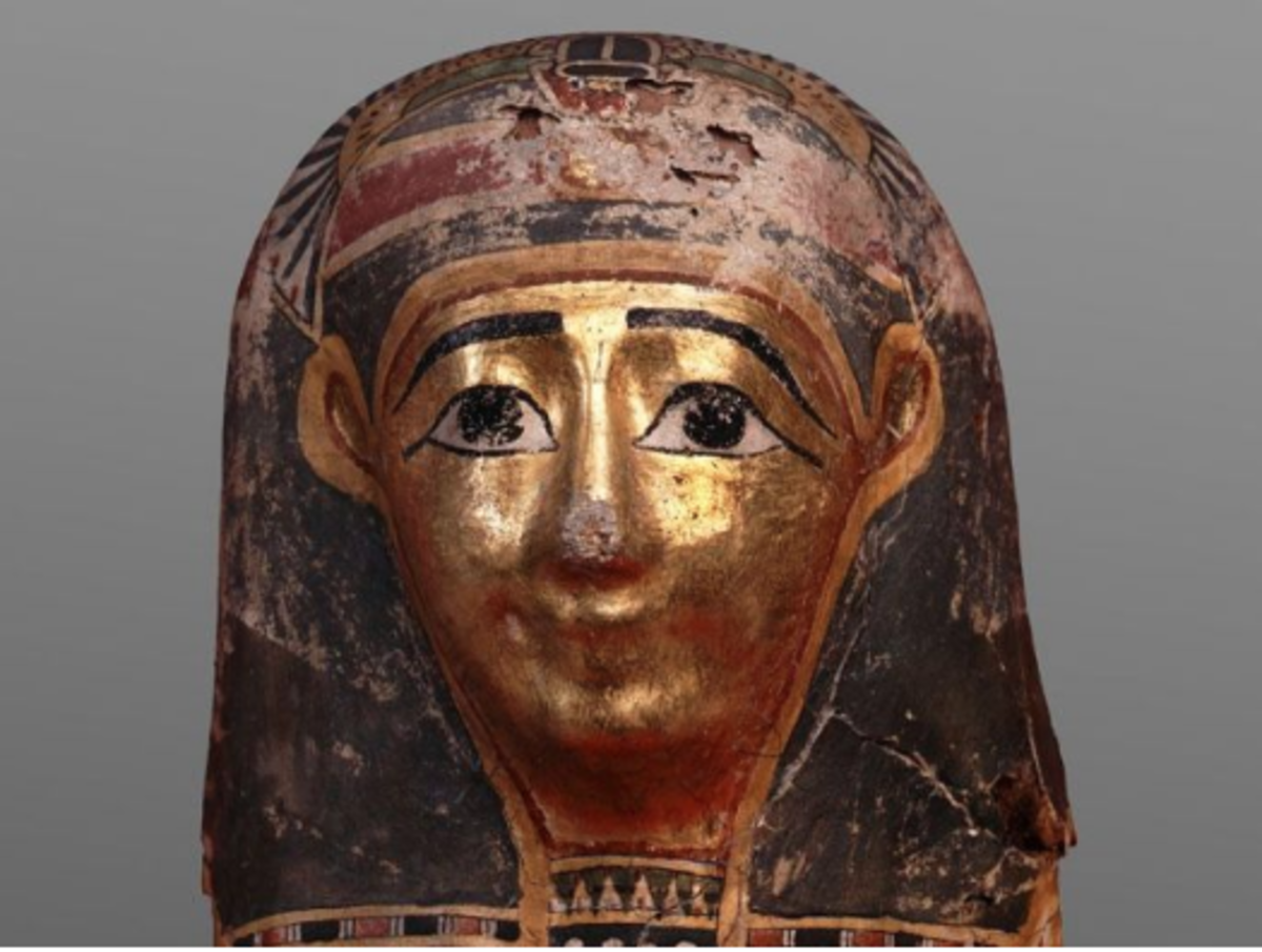 Child's mummy mask