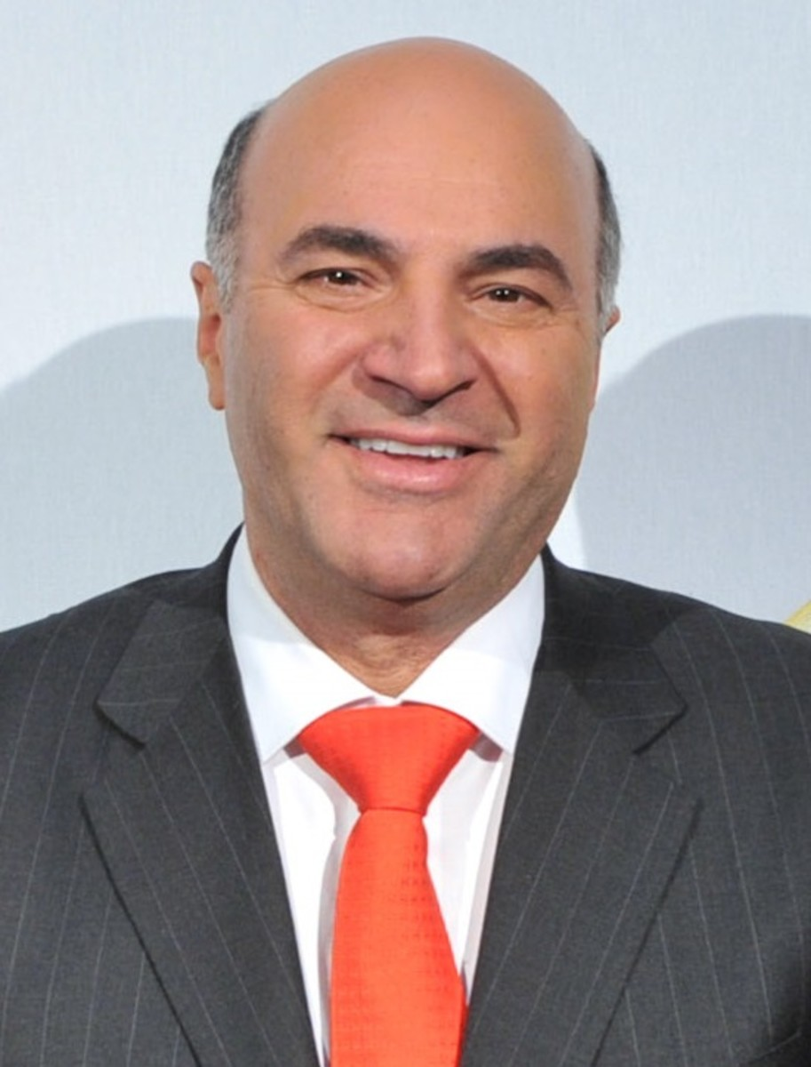 "Kevin O'Leary on ""Shark Tank"" says, ""You're dead to me!"""