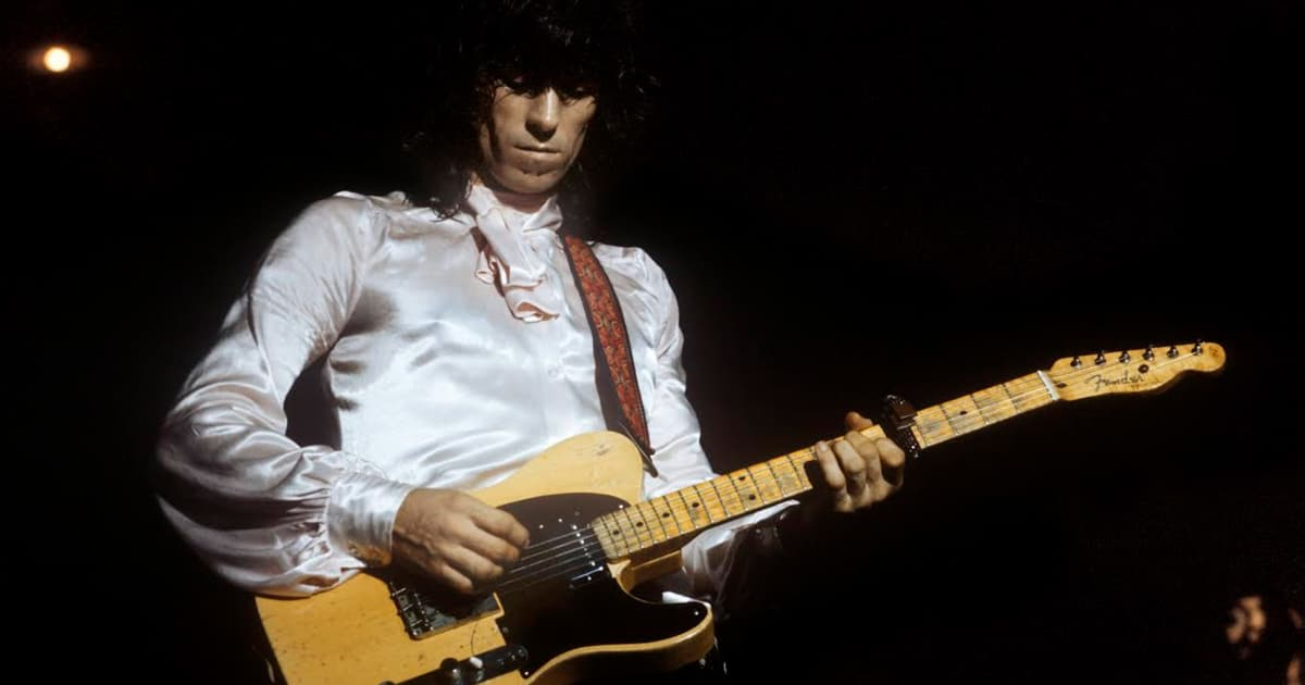 Keith Richards and the Fender Telecaster