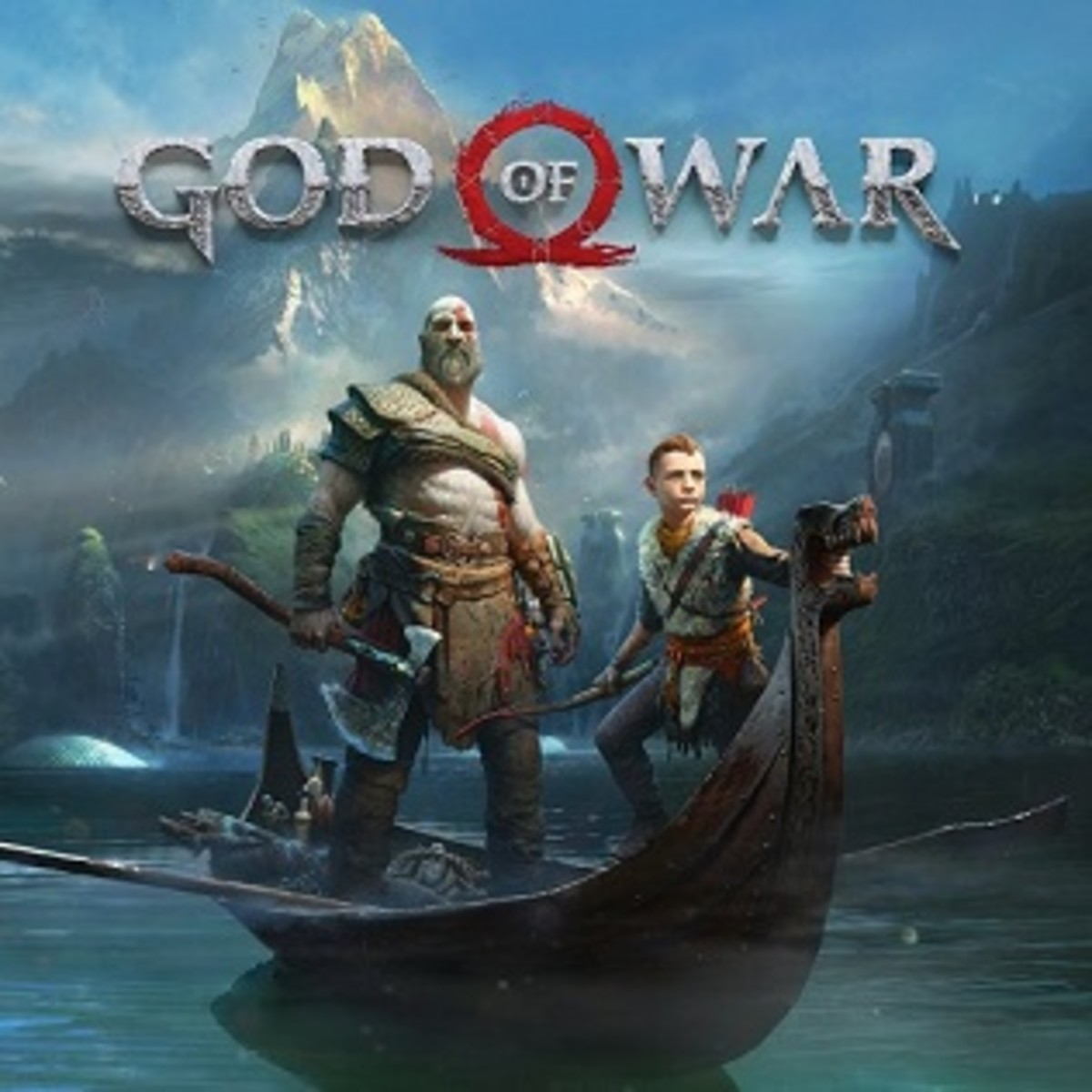 Low resolution image for the cover art for God of War (2018) for PlayStation 4.