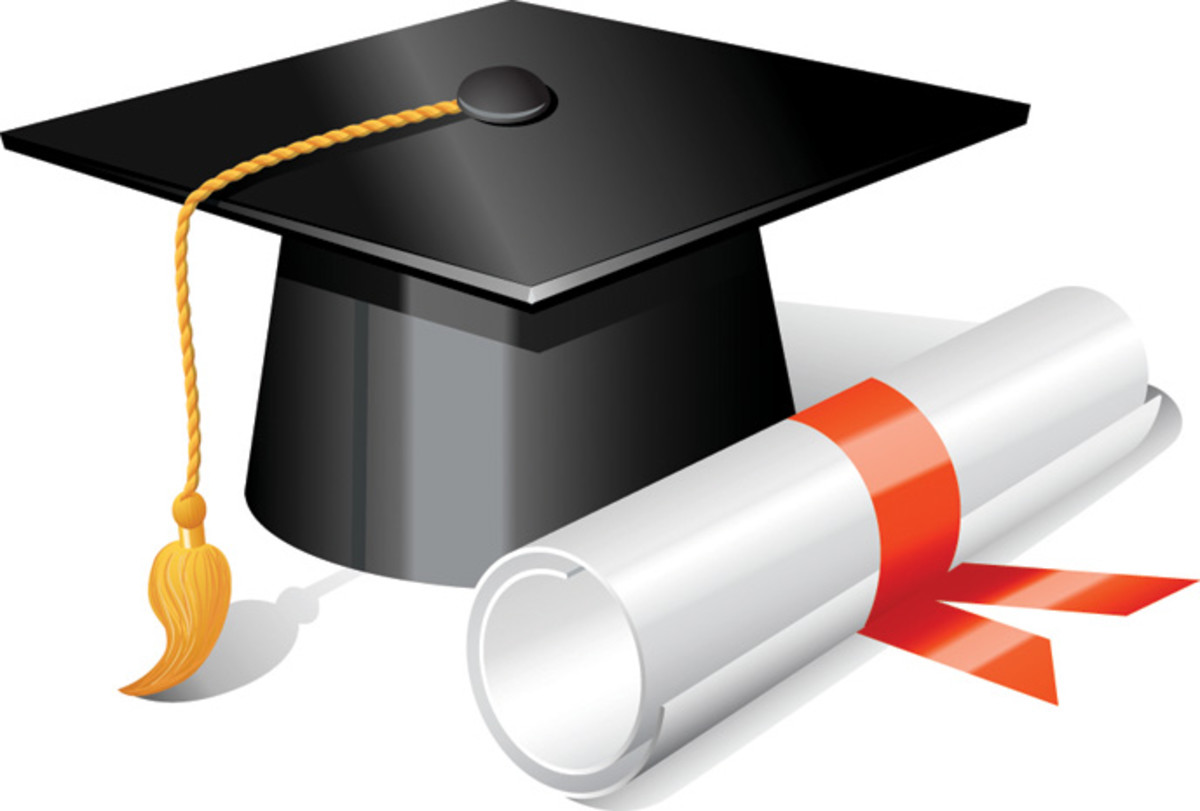 Earning a degree is a positive choice