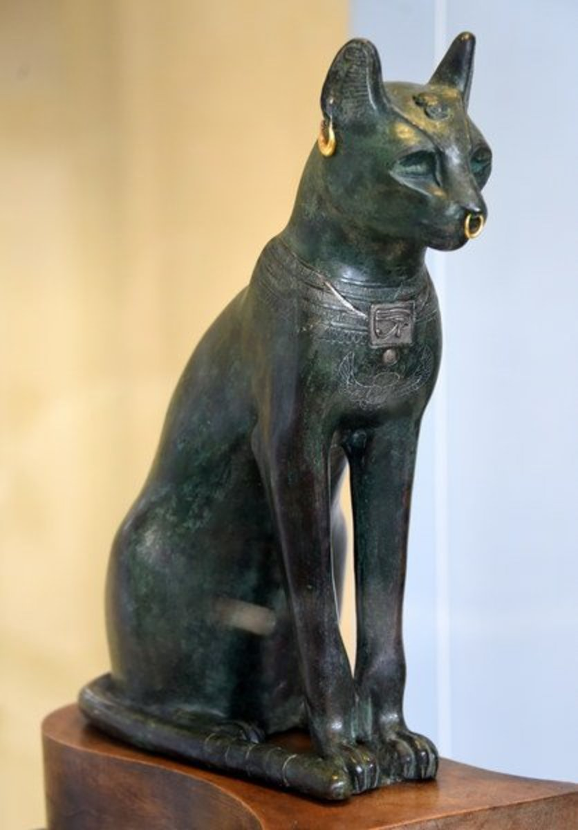 The Goddess Bastet