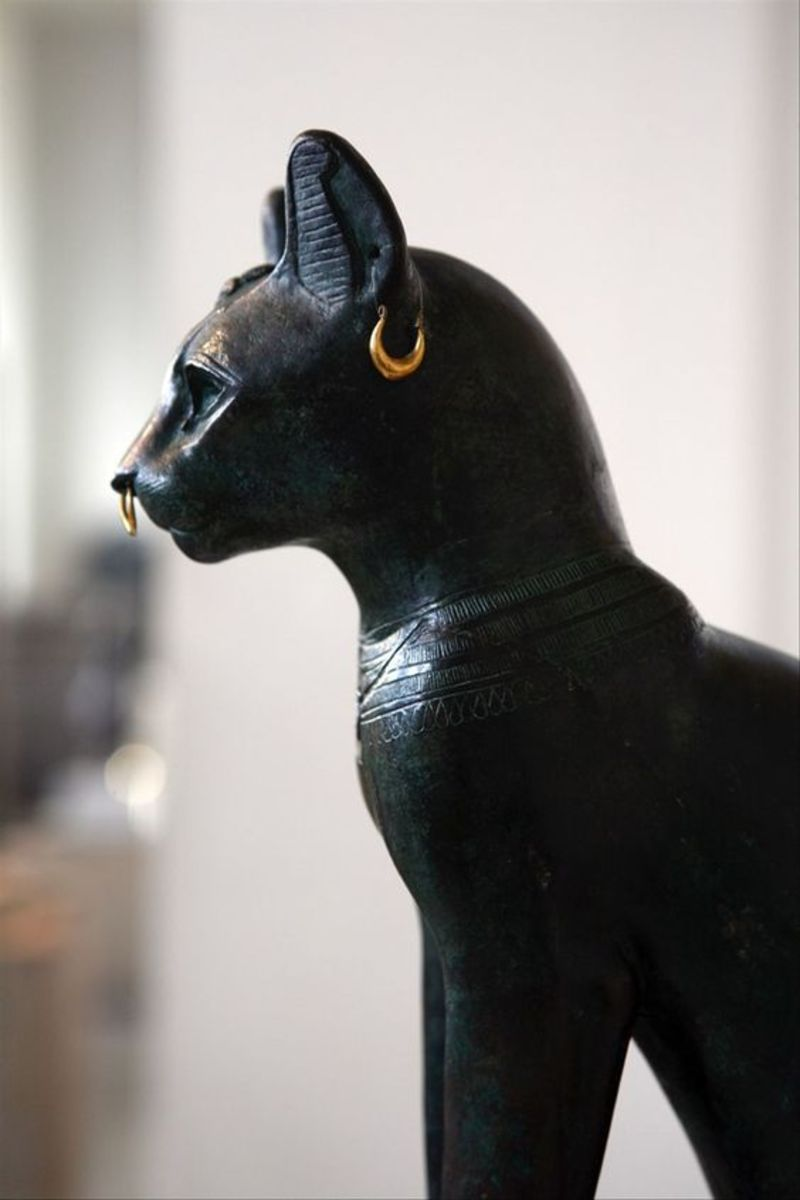 Bastet, Gayer-Anderson Cat. Late Period, ca. 664-332 BCE.