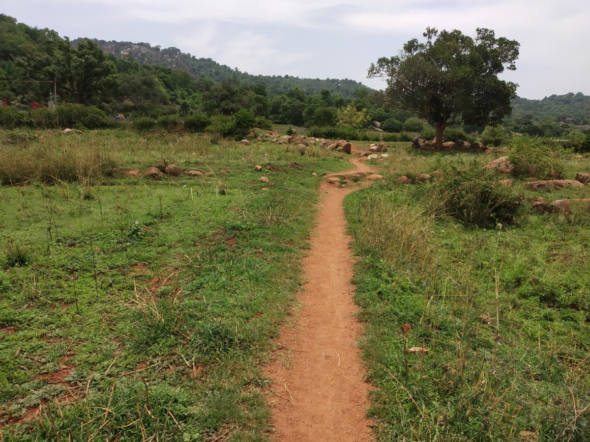 The starting point of Swamimalai Hills Trek