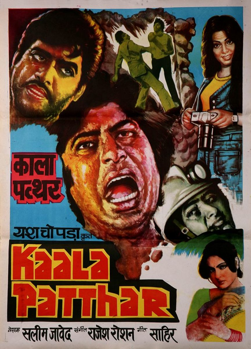 Kaala Patthar Movie Poster