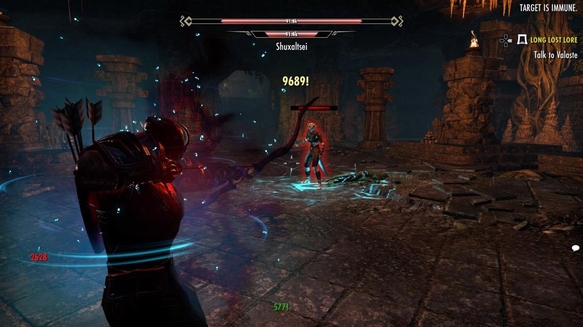 Bahraha's Curse in action 2/3