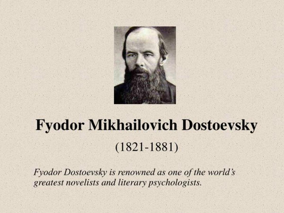 Fyodor Dostoevsky's 4 Greatest Influential Novels