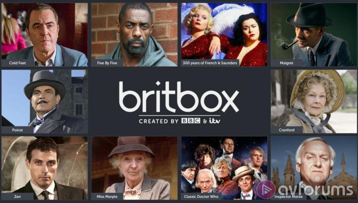 Shows on Streaming Service Britbox