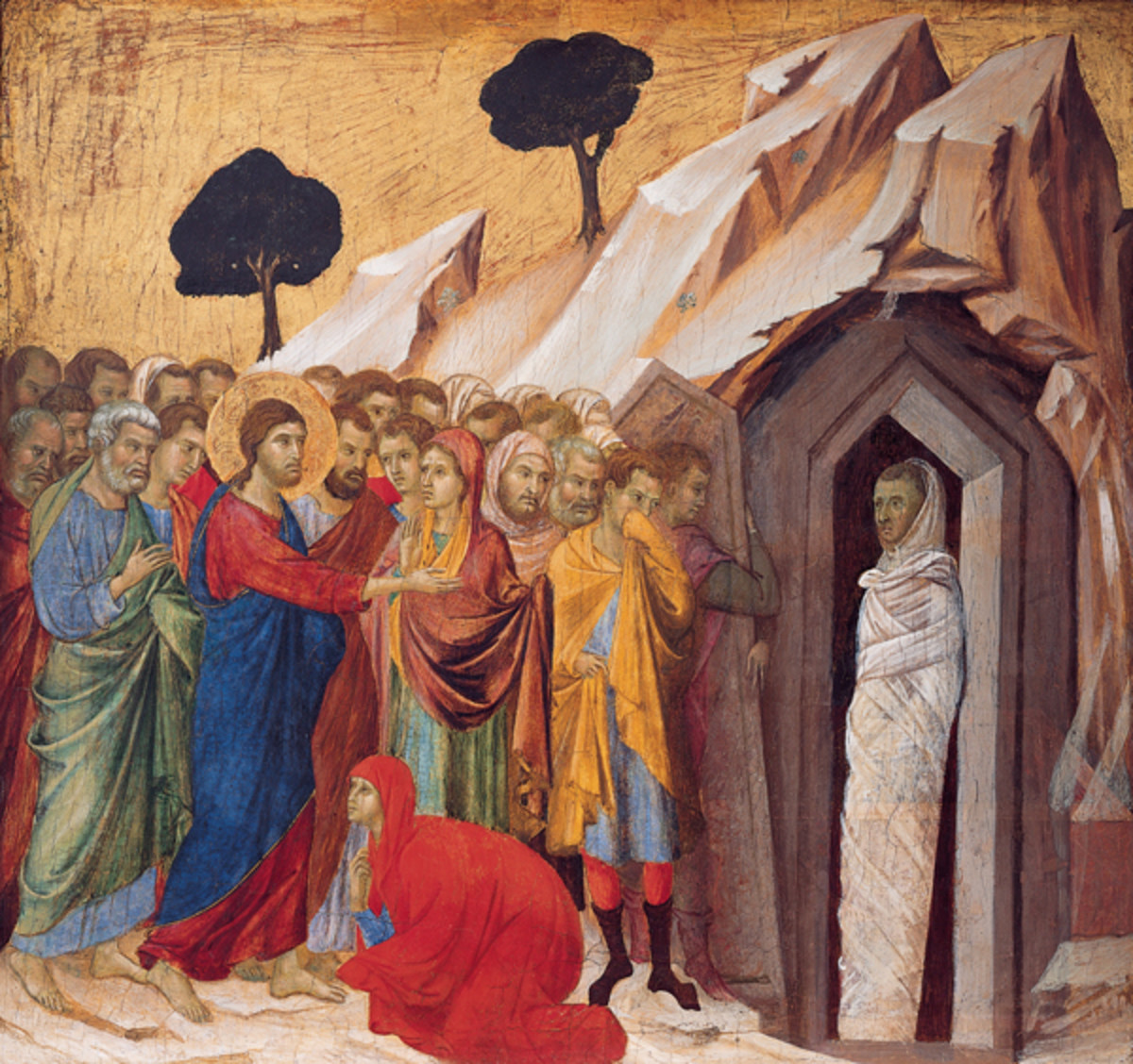 The Raising of Lazarus Painting