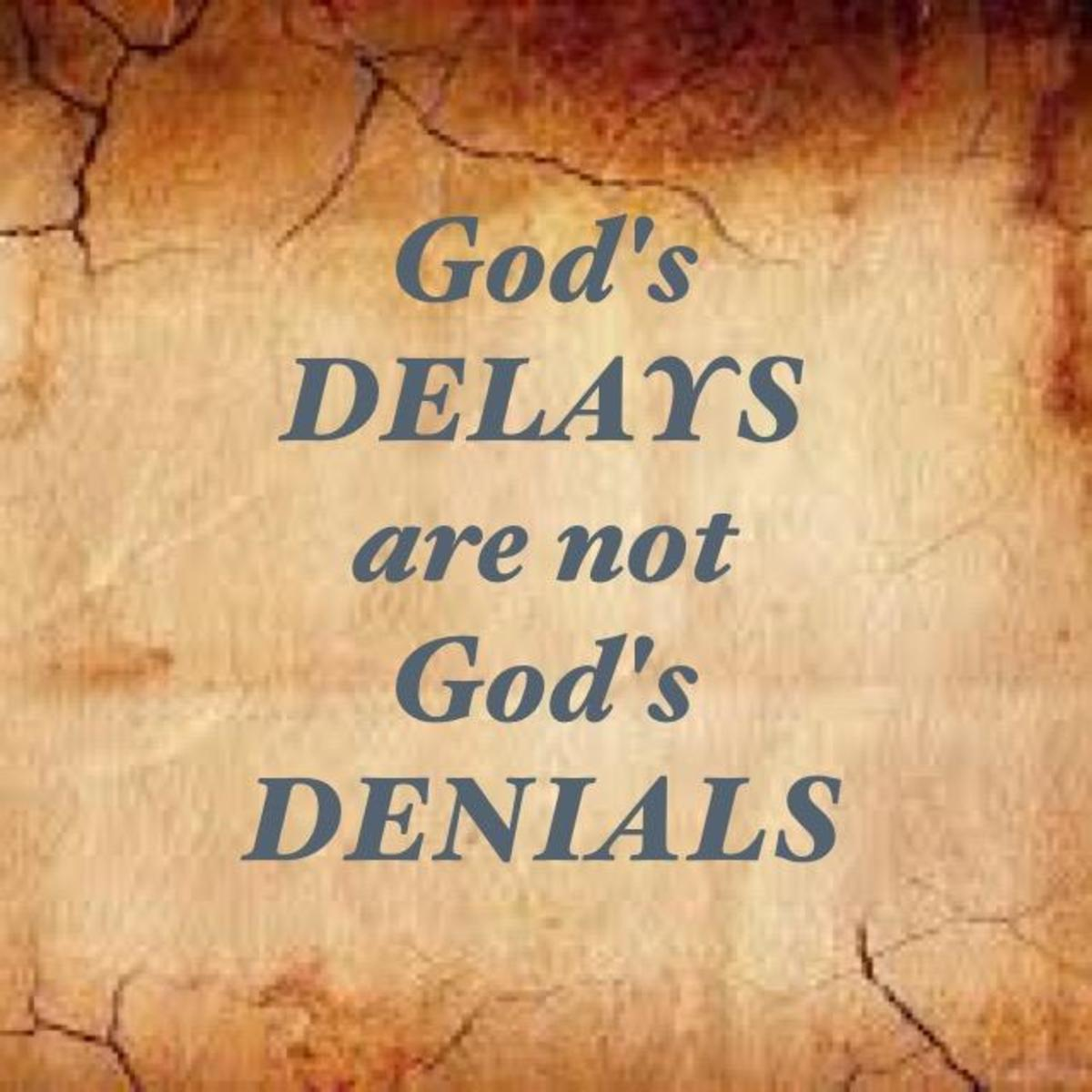 The Blessings of Delays