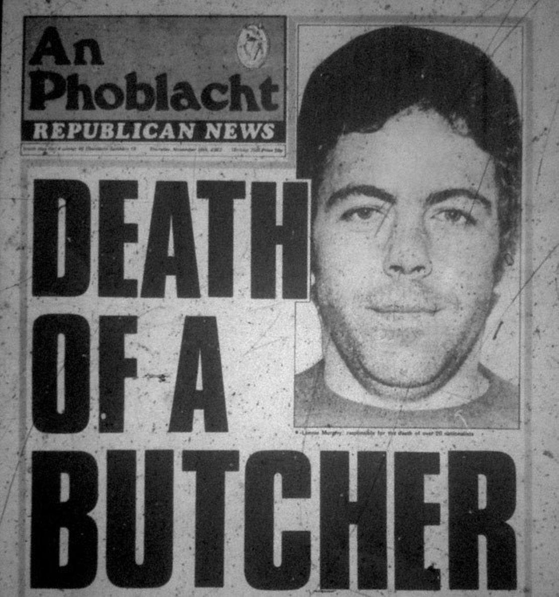 The Shankill Butcher's Lennie Murphy shot dead by IRA